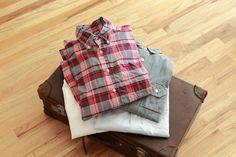 Shirts & Leather Case