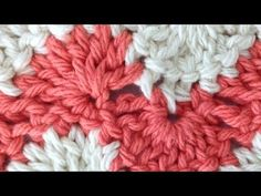 Stitch Repeat Polka Dot Free Crochet Pattern - Right Handed - YouTube