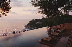The stunning Paresa Resort in Phuket #thailand #sunset #phuket