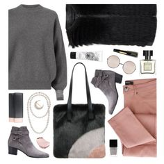 Pink & Grey by ladomna