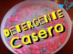 Como hacer: Detergente en polvo casero /DIY Homemade Laundry Detergent - YouTube