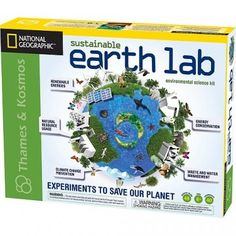Sustainable Earth Lab - A great educational kit for kids that introduces them to environmental issues and solutions through hands on experiments.