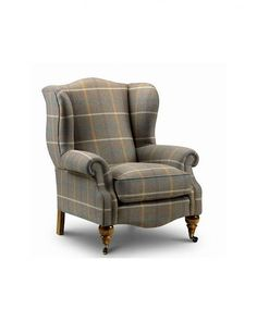 Benson Wing Chair - The Original Chair Company Small Chair For Bedroom, Bedroom Chair, Winged Armchair, Wing Chair, Wingback Chair, The Hamptons, Wings, The Originals, Furniture