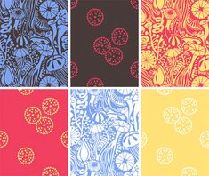 Design Work Life » Estrella de Anis: Pattern Design