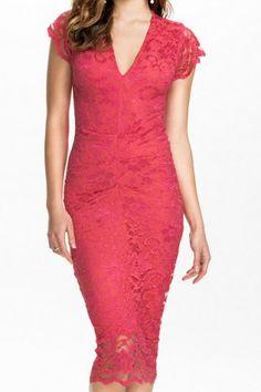 Sexy Sweetheart Neck Flower Design Solid Color Women's Lace DressLace Dresses | RoseGal.com