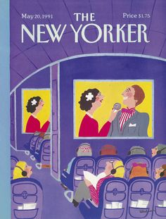 The New Yorker - Monday, May 20, 1991 - Issue # 3457 - Vol. 67 - N° 13 - Cover by : Barbara Westman