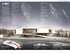 Guggenheim Helsinki | Kimmel Eshkolot Architects Architecture Board, Architecture Portfolio, Office Floor Plan, Ground Floor Plan, Design Museum, Helsinki, Shopping Mall, Portfolio Design, Entrance