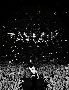 It's like a million little stars Spelling out your name