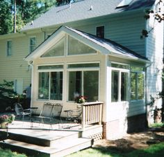 Have Us Build An Alligator Sunroom Or Custom Build One From The Ground Up.  We Specialize To Maximize What You Want And Can Get On Your Budget.