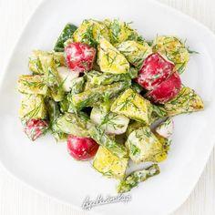 Cobb Salad, Potato Salad, Grilling, Food And Drink, Potatoes, Ethnic Recipes, Diet, Crickets, Potato