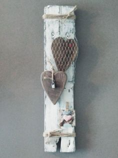 "Valentijns bord: ""Captured heart"" | Karin's Deco Atelier"