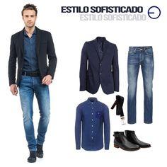 #FashionbySIMAN Dale un toque sofisticado a tus días incorporando el estilo business casual. Un blazer básico y unos jeans son infaltables, solo deberás elegir el color y diseño de camisa que mejor se ajuste a tu personalidad. #modaElSalvador #getthelook #InStyle
