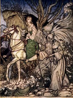 Arthur Rackham Undine Fairytale