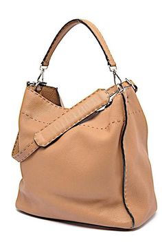 30d2c063c1de Fendi Brown Selleria Anna Tote Bucket Shoulder Bag Ex Condition  2950  Fendi   Shoulder