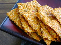 Tomato Onion Flax Cracker #raw #vegan #recipe