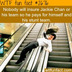 some facts about Jackie Chan - WTF fun facts