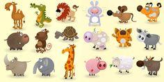 vectores animales