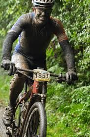 Image result for mud flying off front wheel off mountain bike