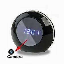 MAROC ESPION: Horloge Caméra Espion HD avec detecteur de mouveme...