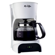 Mr Coffee Simple Brew Switch Coffee Maker with Removable Filter White >>> Be sure to check out this awesome product. 4 Cup Coffee Maker, Electric Coffee Maker, Amazon Coffee, Coffee Uses, Coffee Coffee, Coffee Break, Spiced Coffee, Coffee Filters