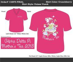 Alpha Delta Pi Mother's Tea  http://www.greekt-shirtsthatrock.com/