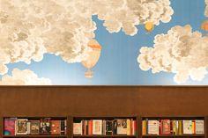 Обои Fornasetti в магазине Rizzoli | AD Magazine