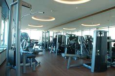 #Hotel #BayerischerHof #Munich #wellness Blue Spa, #gym #fitness