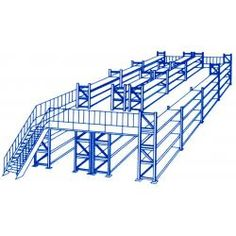China Mezzanine Floor Racking And Industrial Storage Rack Systems With Multi-level for sale