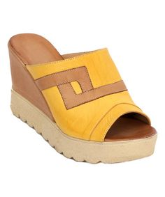 Another great find on #zulily! Tetris Wedge Sandal #zulilyfinds