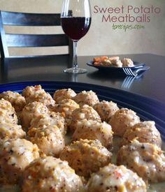 Sweet Potato Meatballs #TastefullySimple