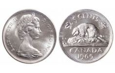 Top 10 rare Canadian nickels include the 1926 far 1947 dot, 1951 high relief, 1953 Shoulder Fold (SF) Far Maple Leaf, the 1925 and 1965 large beads. Old Coins Worth Money, Old Money, Coin Collection Value, Maple Leaf Images, 1943 Penny, Thousand Dollar Bill, Coin Jar, Rare Pennies, Canadian Coins