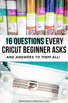 Cricut Design Space How To - 16 Questions Every Cricut Beginners Asks