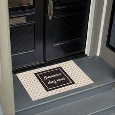 #Door mat Welcome on our premises - #doormats #home & #living