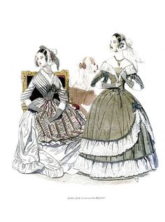 May 1840 Godey's Lady's Book Fashion Plate