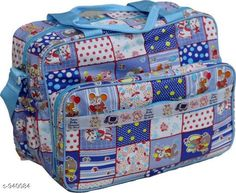 Checkout this latest Clothes Covers_0-500 Product Name: *Stylish Baby Diaper Bag* Material: Rexine Size: Free Size Description: It has 1 piece of Baby Diaper Bag with 2 Bottle Warmers Work: Printed Country of Origin: India Easy Returns Available In Case Of Any Issue   Catalog Rating: ★4.2 (1011)  Catalog Name: Pretty Baby Diaper Bags Vol 1 CatalogID_110818 C131-SC1628 Code: 683-940084-219
