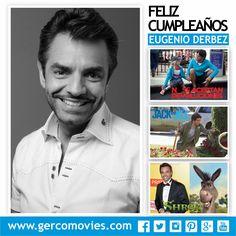 Hoy #EugenioDerbez, actor, comediante y productor mexicano, cumple 54 años