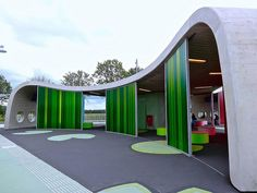 Transferium (bus stop) in Hoogkerk, Netherlands, designed by lyvr (lysbeth de vries - 2010).