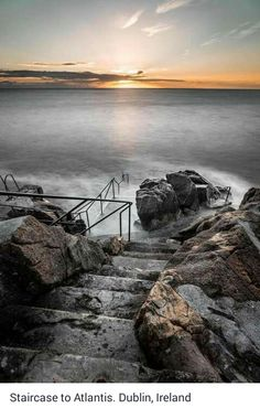Staircase to Atlantis in Dublin, Ireland