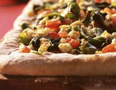 #Pizza ze szpinakiem po turecku