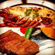 ま#tokyo #line #linecamera #japan #東京 #肉#オマール海老