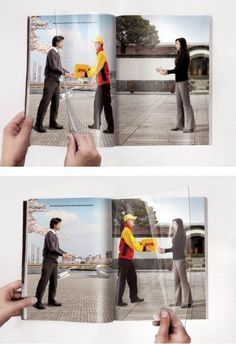 Wow! That's what I call true #VisualPersuasions. An extremely creative interpretation by Express company.