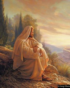 Alpha and Omega by Greg Olsen: For unto us a Child is born, unto us a Son is given, and the government shall be upon His shoulder; and His name shall be called Wonderful, Counsellor, The Mighty God, The Everlasting Father, The Prince of Peace.