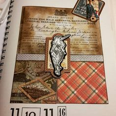 #collage #journalpage #journaling #journal #creativejournal #felthatandwandcreativejournal #creativejournaling  #stamping #handmade #hechoamano #sellos  #papercrafts #papercrafting #mustcreate #felthatandwanddesign #rubberstamping #stempels #stempeln #makistamps #mixedmedia