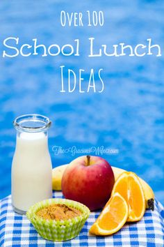 A collection of the BEST easy school lunch ideas for every family. Easy, healthy, allergy-conscious and gluten free, and more!
