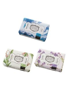 (Own) Soaps (Blue Lavender, Sea Mist & Lemon Verbena) by Panier Des Sens