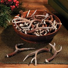 Antler Table Tossers - OrientalTrading.com a friend of mine has gotten these before and she said they are cool! Might be a good idea for centerpieces for if you did the guys bouts with them..I'm not sure how much they are to buy anywhere else but just wanted to let you know :)