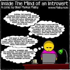 #kindle #book #books #selfpublished #selfpublishing #goldrush #comics #cartoons #memes #funny #introvert #introverts