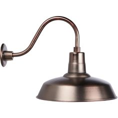 NPower Multi-Mount Warehouse Barn Light — 12in. Dia., Copper Coated | Outdoor Lighting| Northern Tool + Equipment