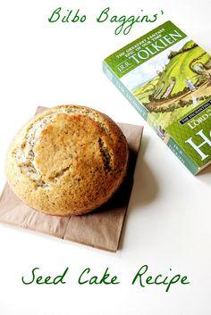 Bilbo Baggins Seedcake Recipe Hobbit Lord of the Rings