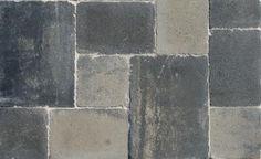 abbeystones, abbey stones, getrommeld, getrommelde, grijs zwart, grijs/zwart, grijszwart, wildverband